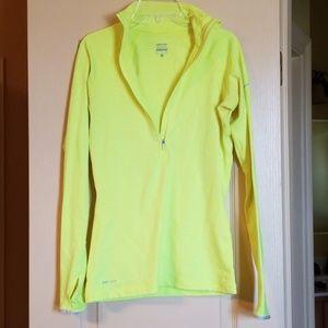 Nike half zip dry fit